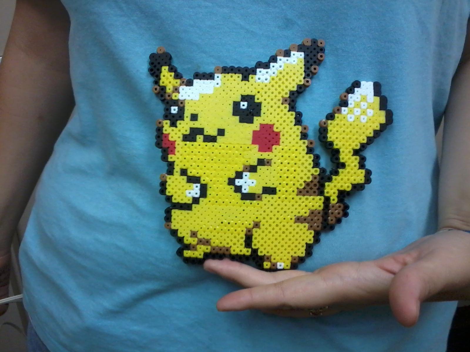 Perler Pikachu