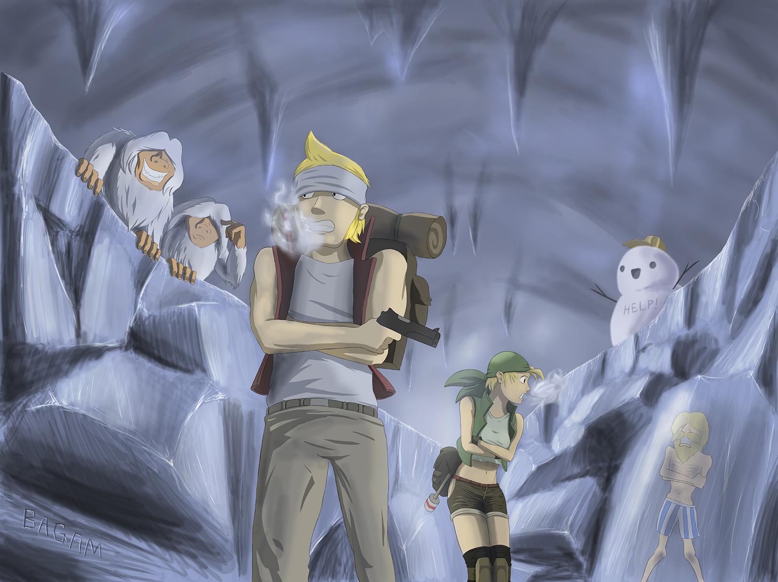 Metal Slug 3 Ice Cave