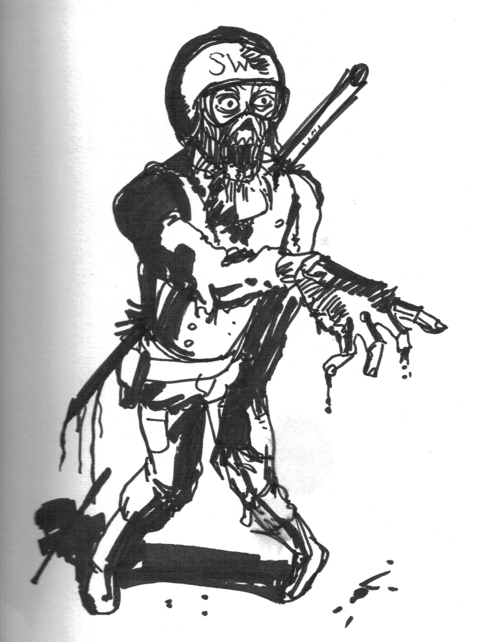 S.W.A.T. Zombie