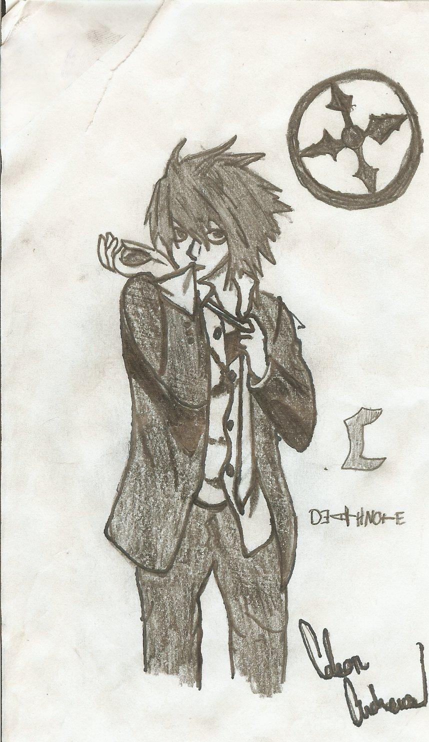 Another - L - death note