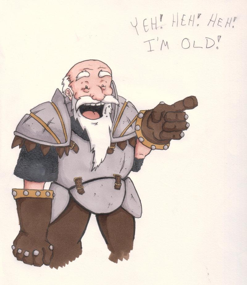 I'm Old!