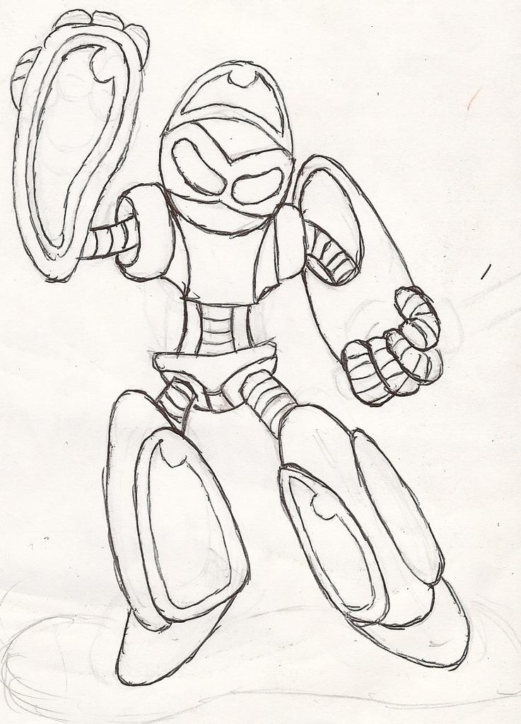 Emerl Evolution Beta Sketch