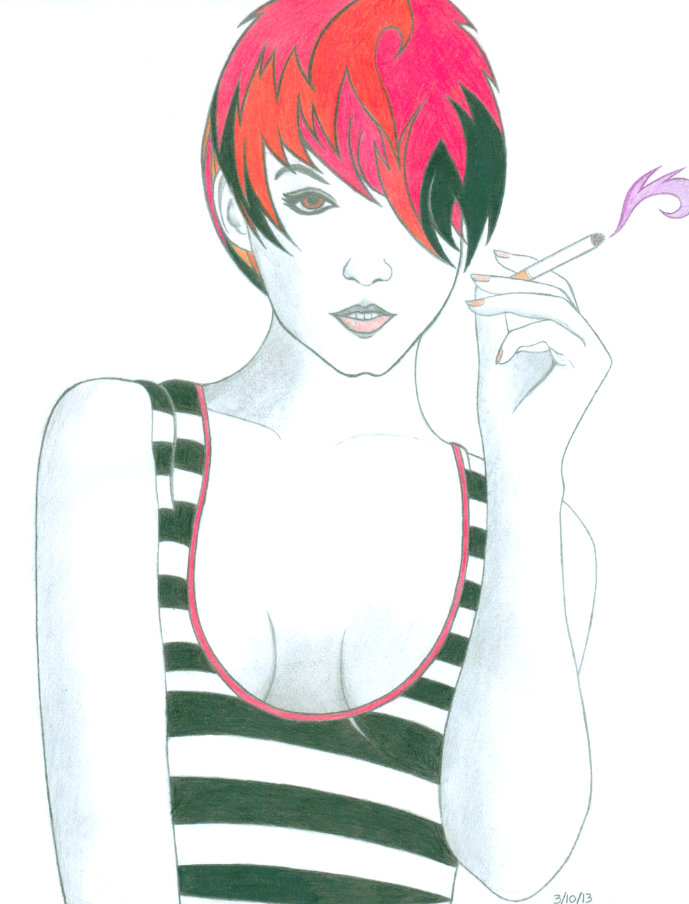 Cigarette Girl #4