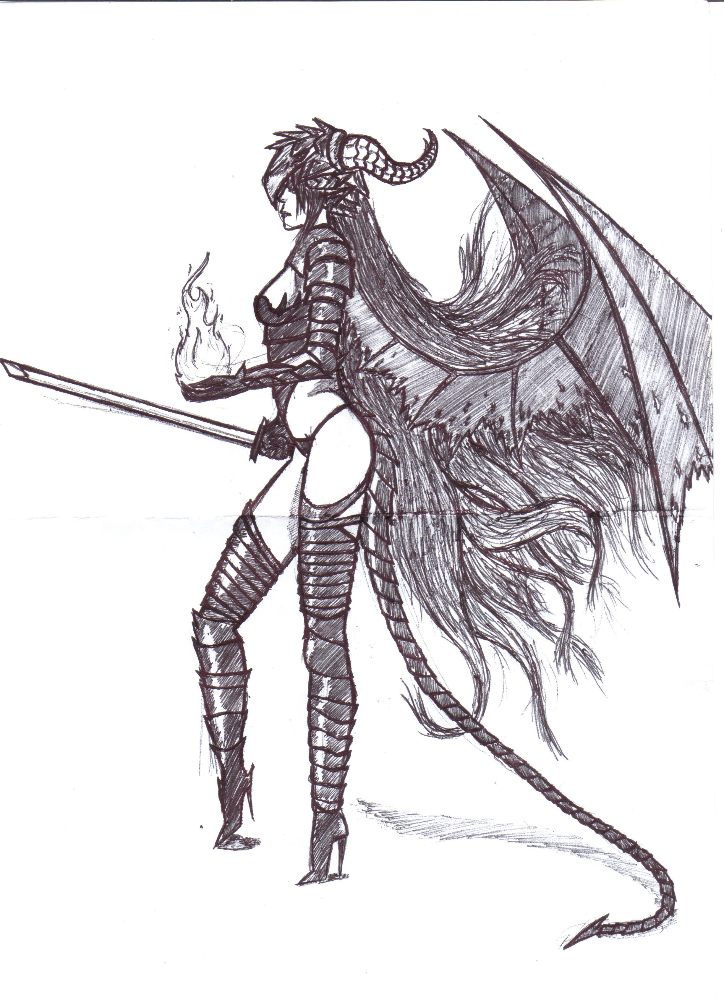 Dragon Girl - Copy