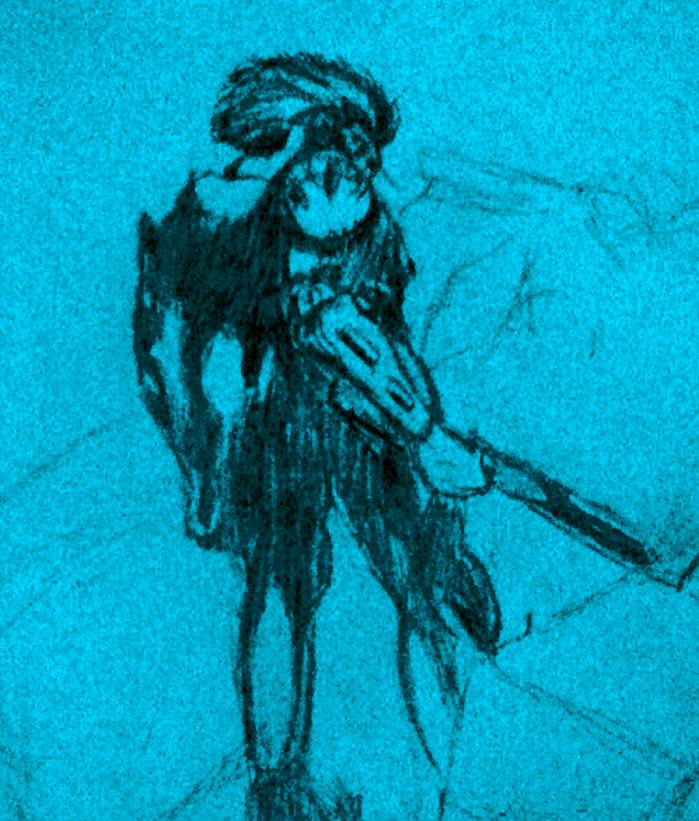 Mr.Lightening Bolt Sketch