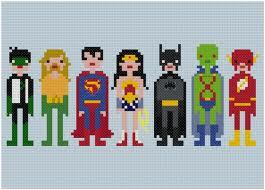Pixel DC Super Heroes