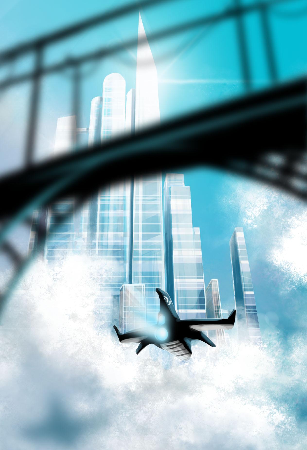 SkyCity (midday speedpainting)