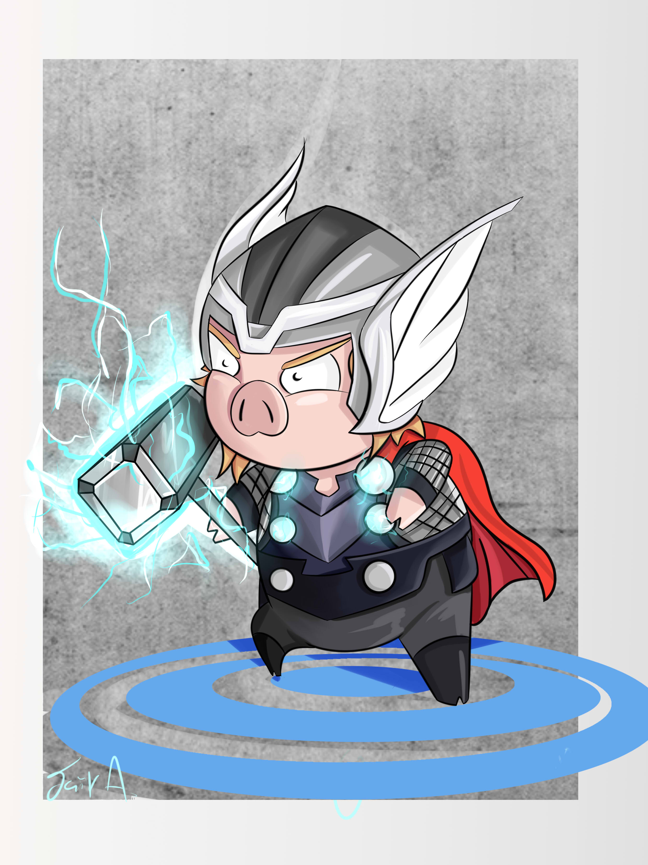 Thor pig