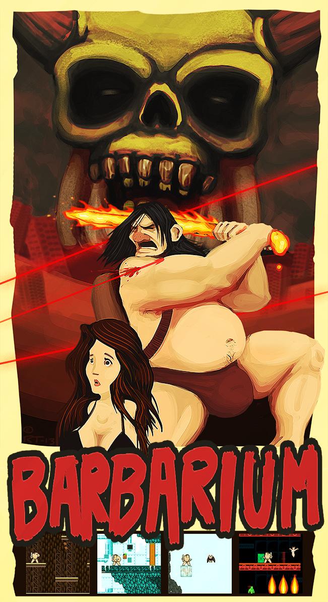 Barbarium poster