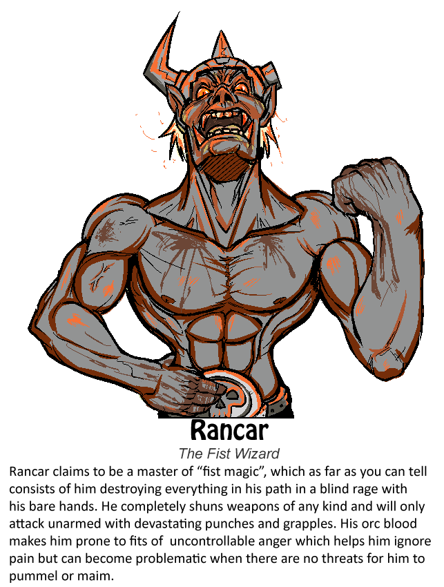 Rancar: Wizard of the Fist