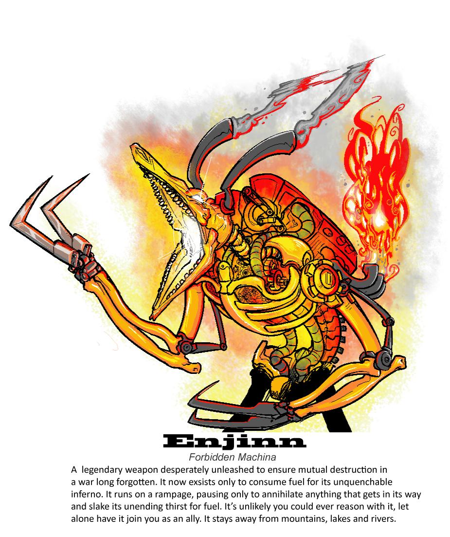 Enjinn: Forbidden Machina