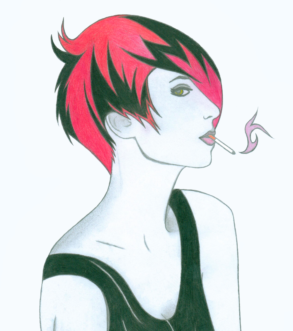 Cigarette Girl #7