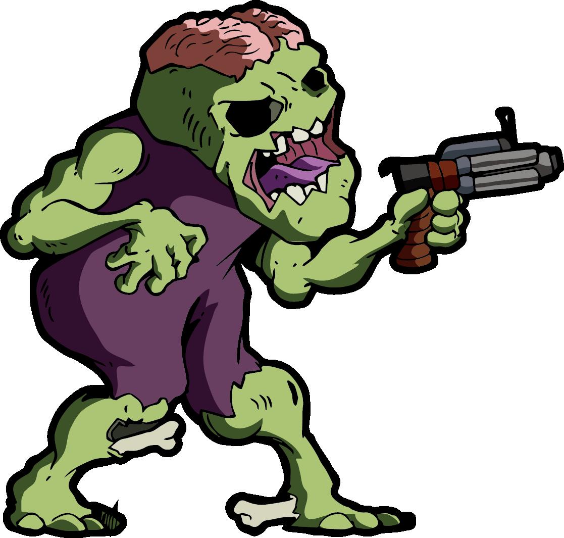 side scroller zombie