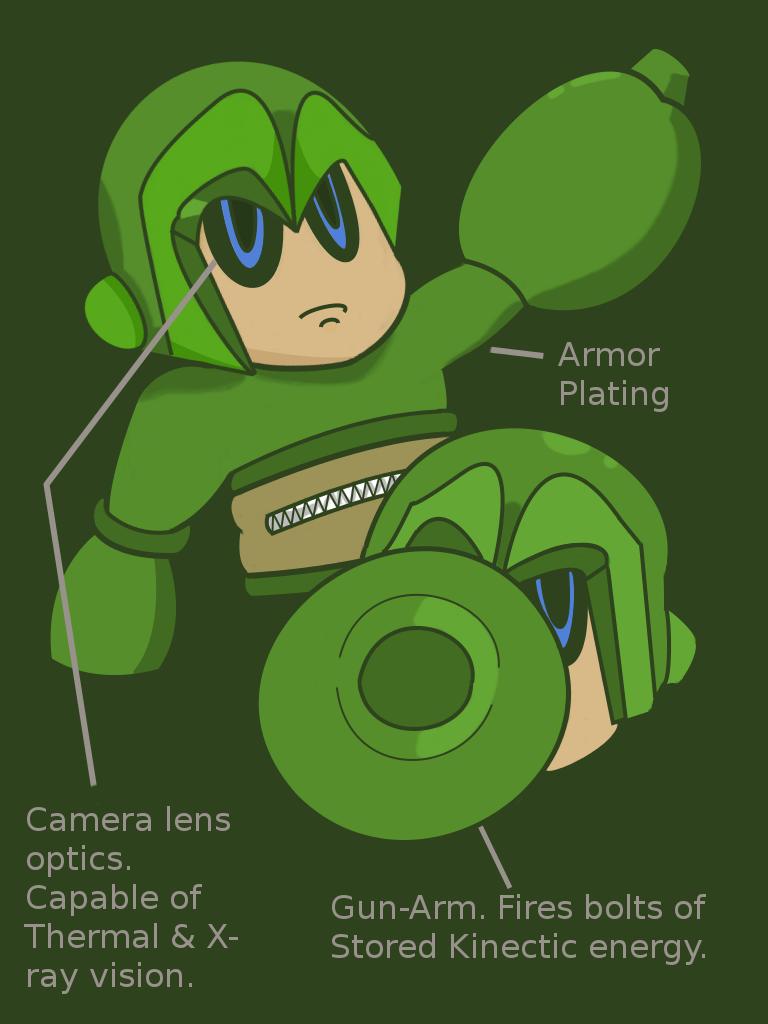 Commando Kid concept