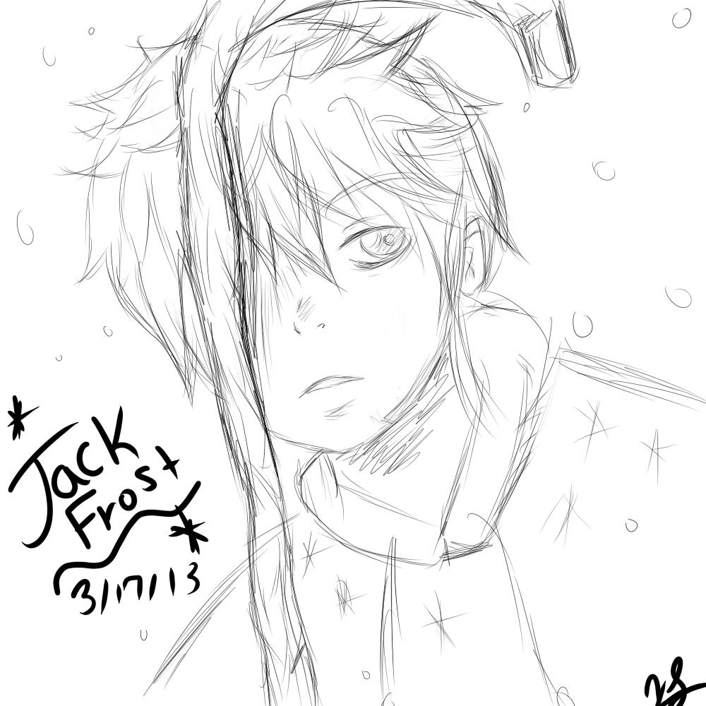 jack frost doodle