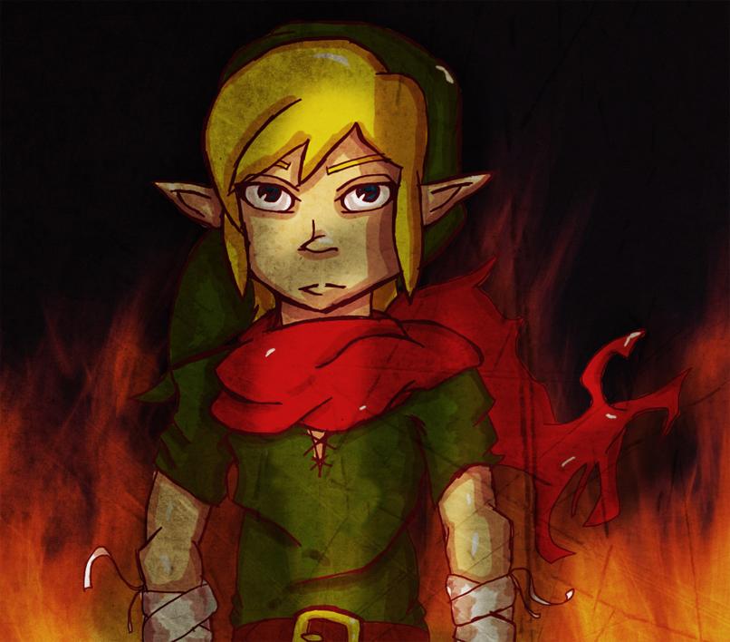 The hero, Link!