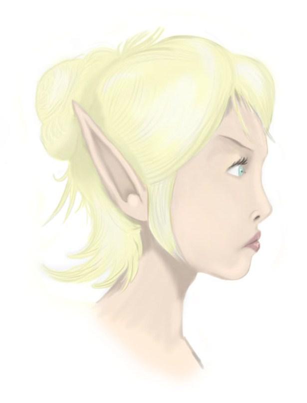 Elf - My First Digital Art