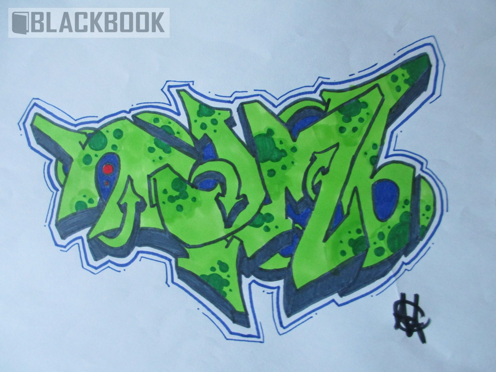 Graffiti Piece   Numb