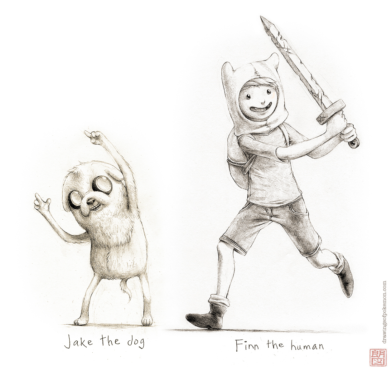 Adventure Time - Finn and Jake