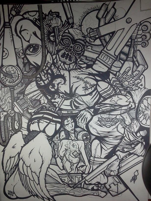 18x24 tattoo guy