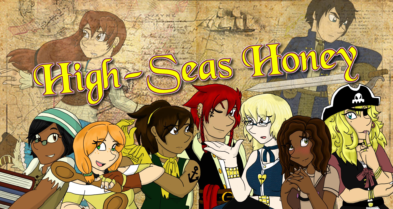 High-Seas Honey: Cast Shot