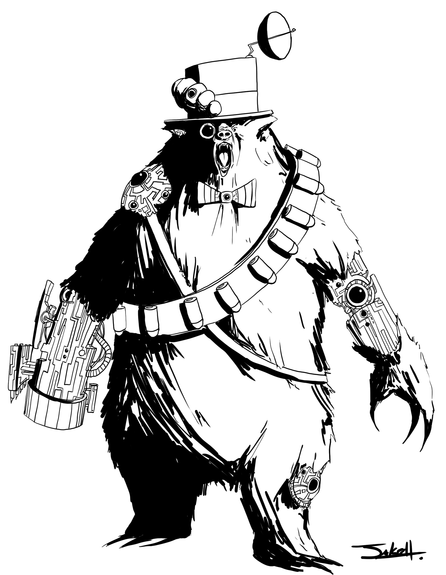 Cyborg Bear Sullivan