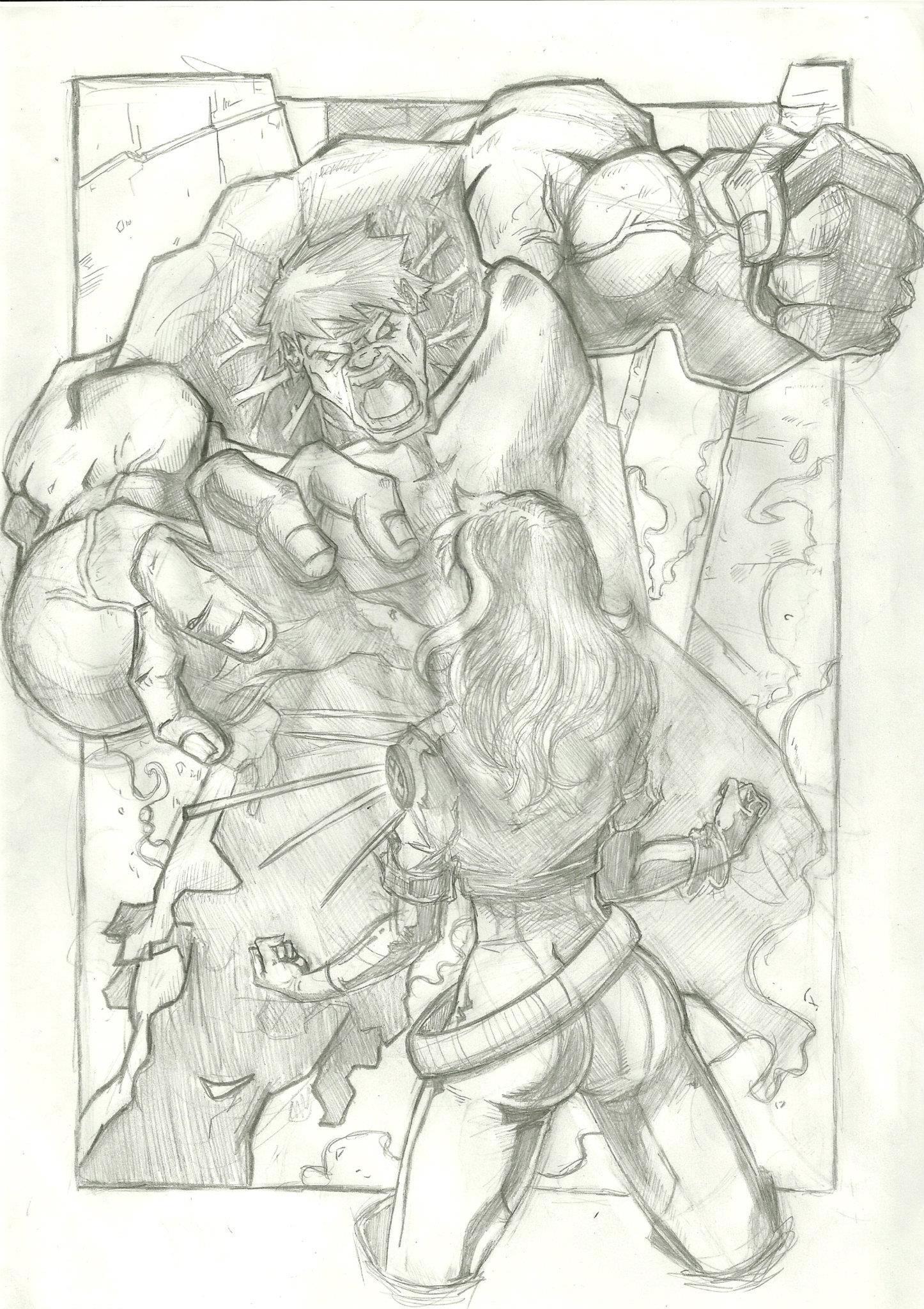 Hulk vs Rogue