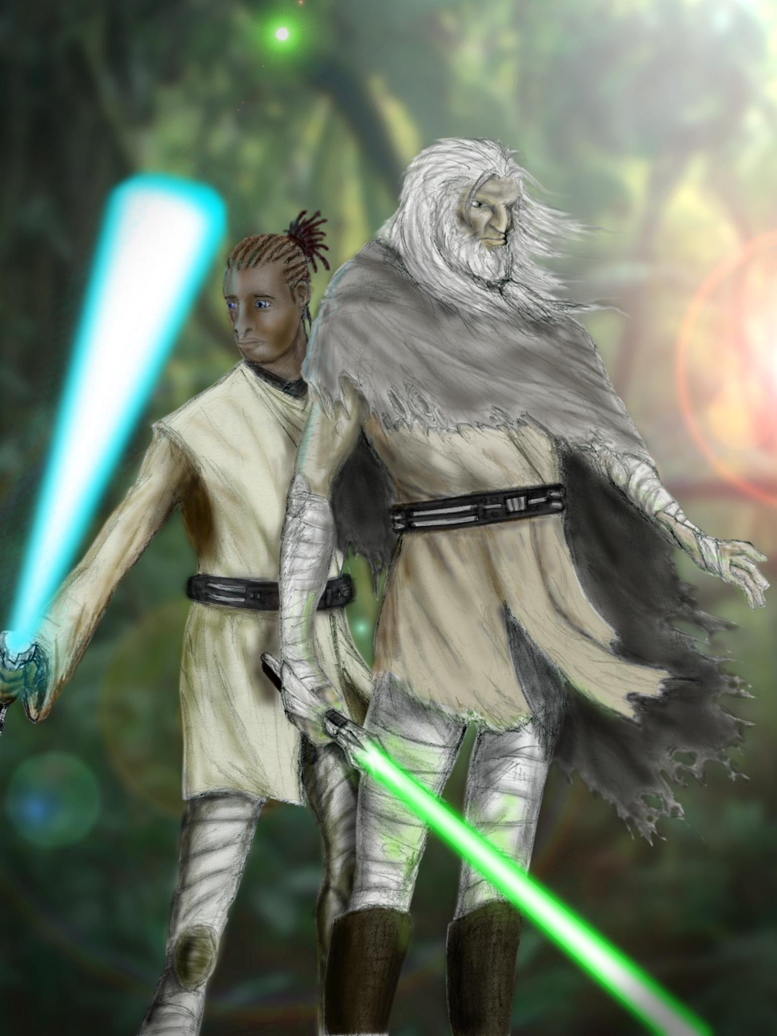 Master & Padawan: Star Wars 7