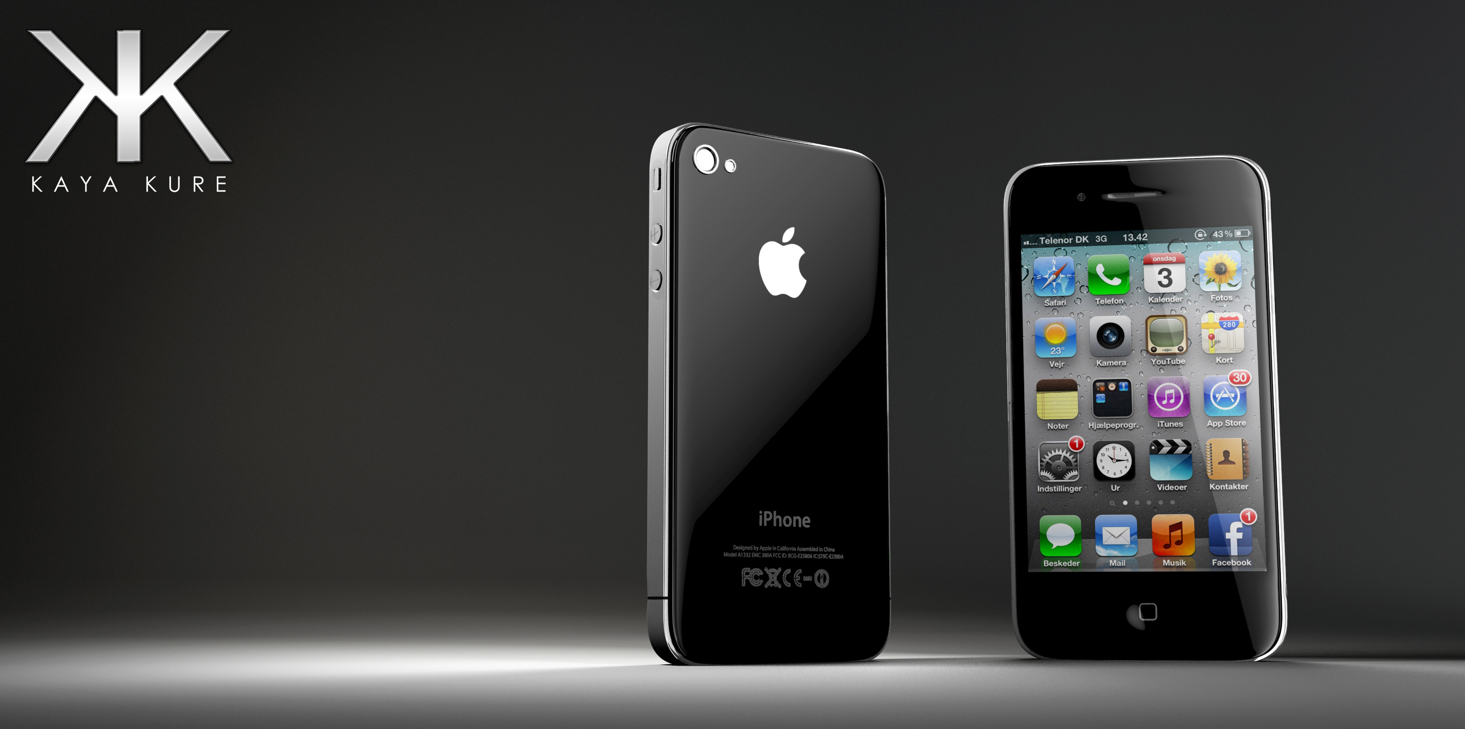 iPhone 4 in 3D
