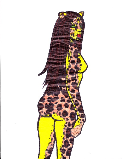 8.5x11 female cheetah