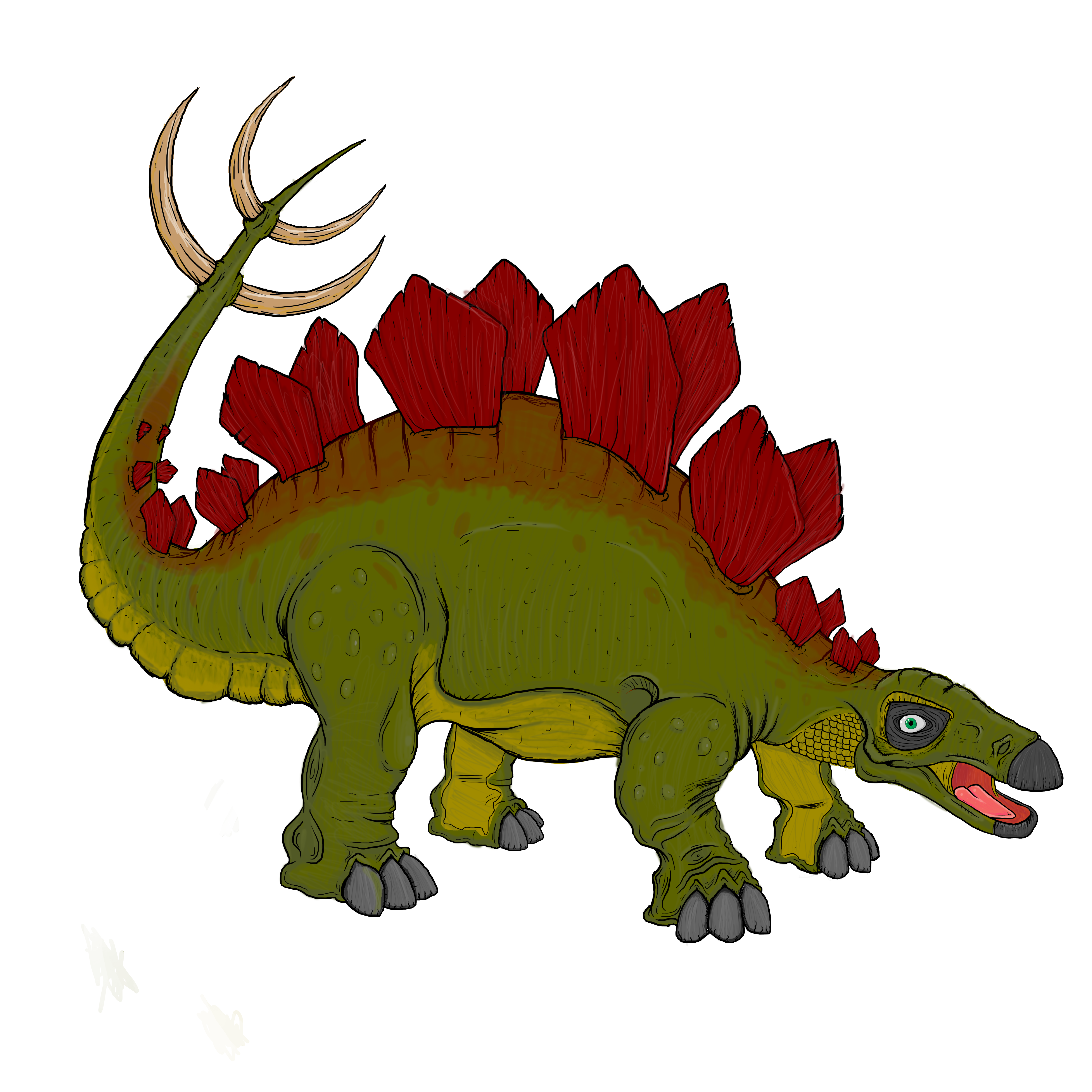 Greg The Stegosaurus