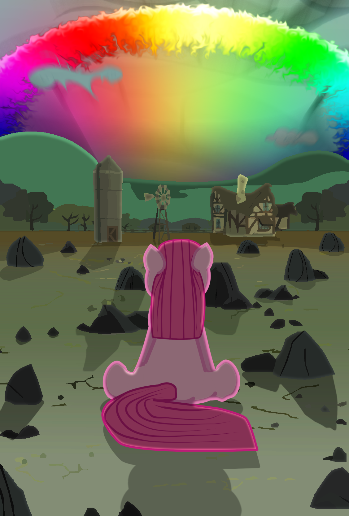 Pinkamena & the Sonic Rainboom