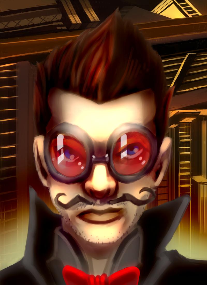 Secret Agent Moustache