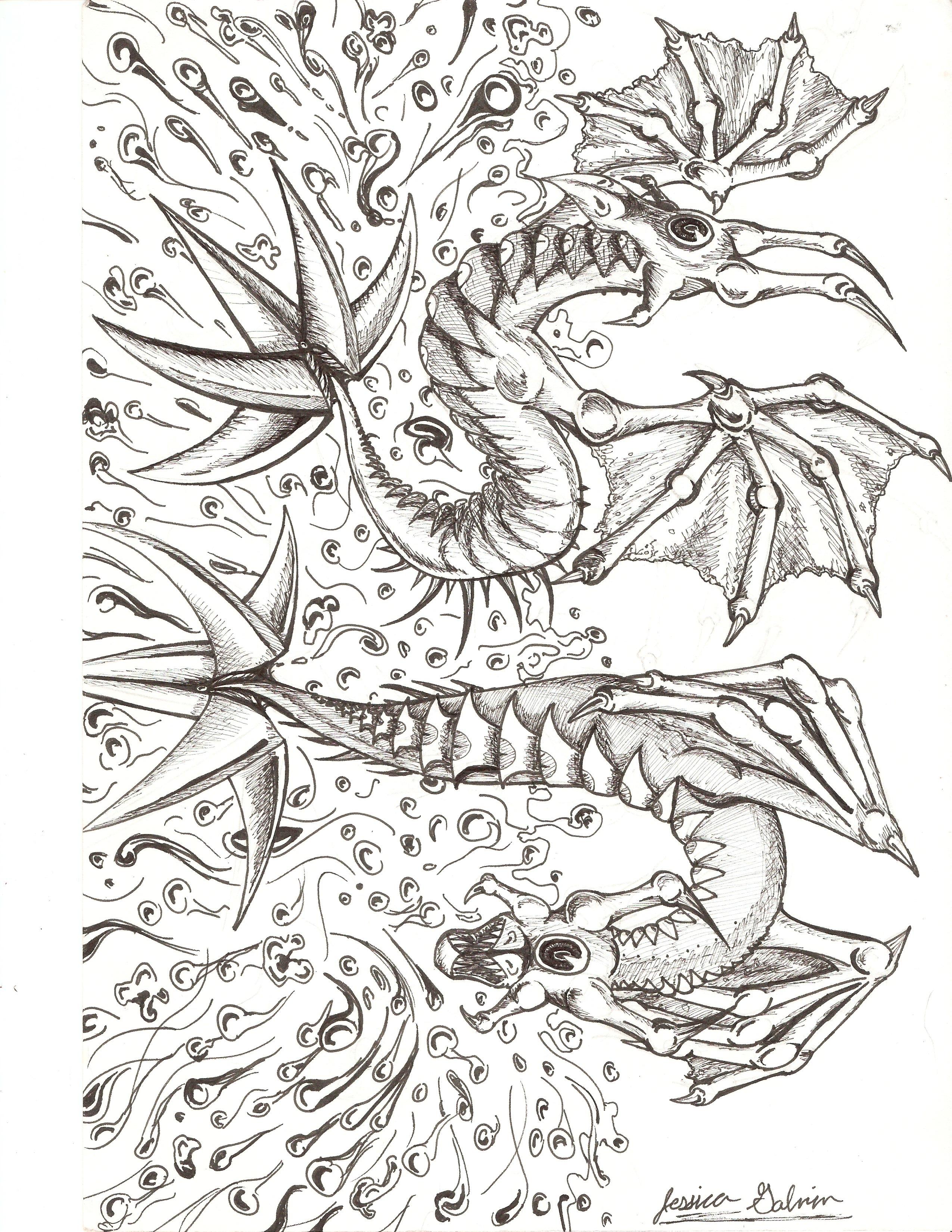 Water Serpents