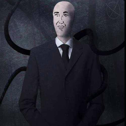 SlenderMan (if he had a face)