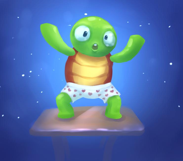 Gonzo Turtle