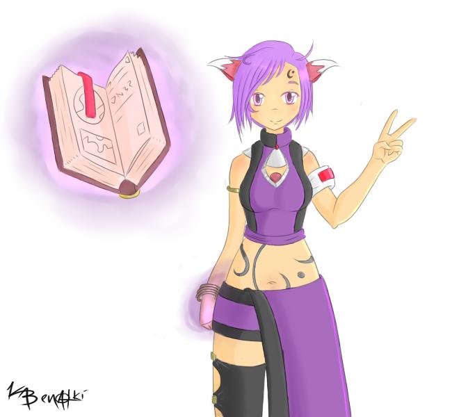 Violet - Orignal Character