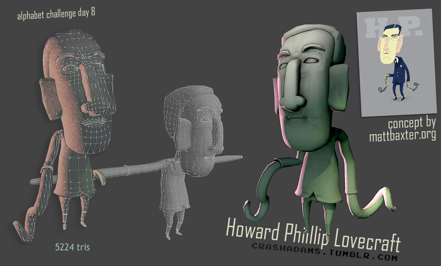 """H"" is for H.P. Lovecraft"