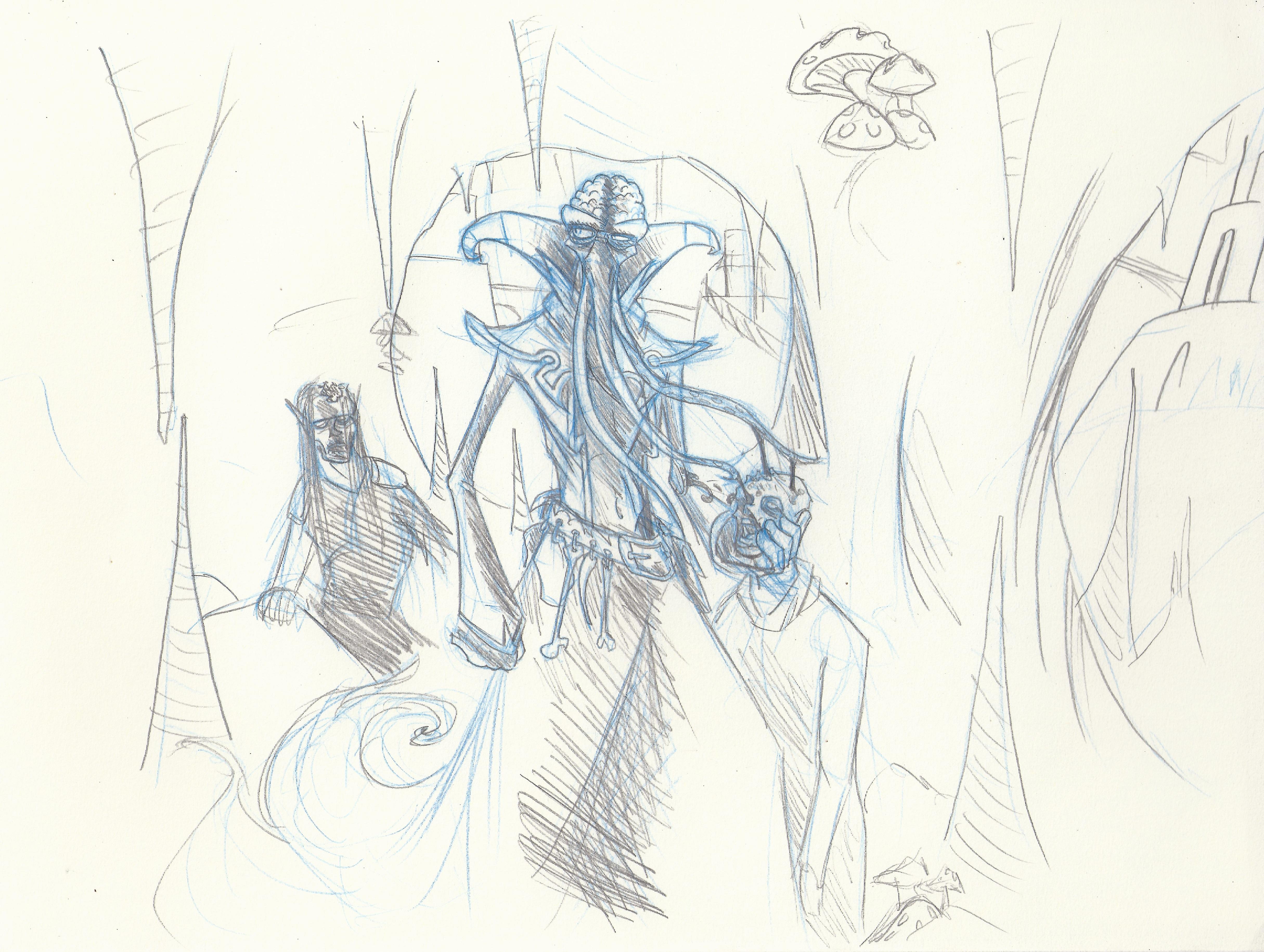 Mindflayer sketch 2
