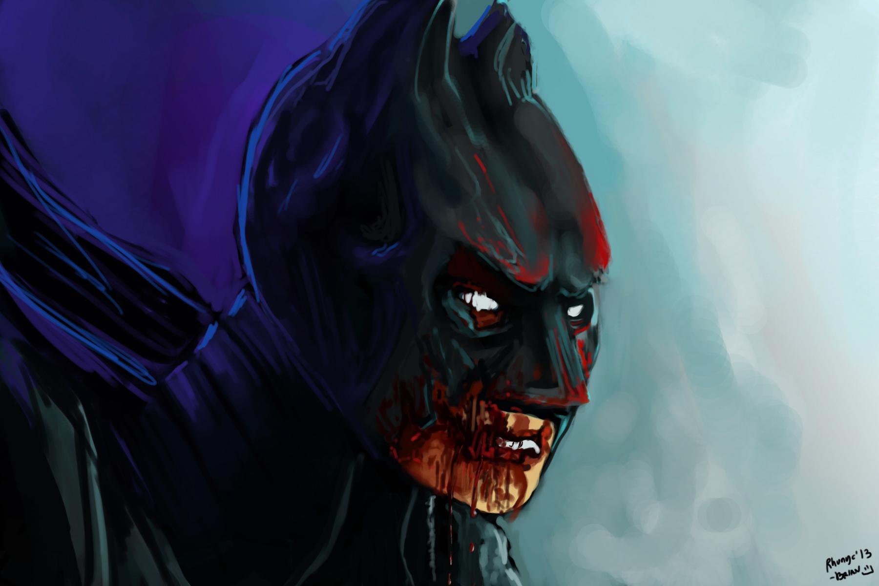 Damaged Batman