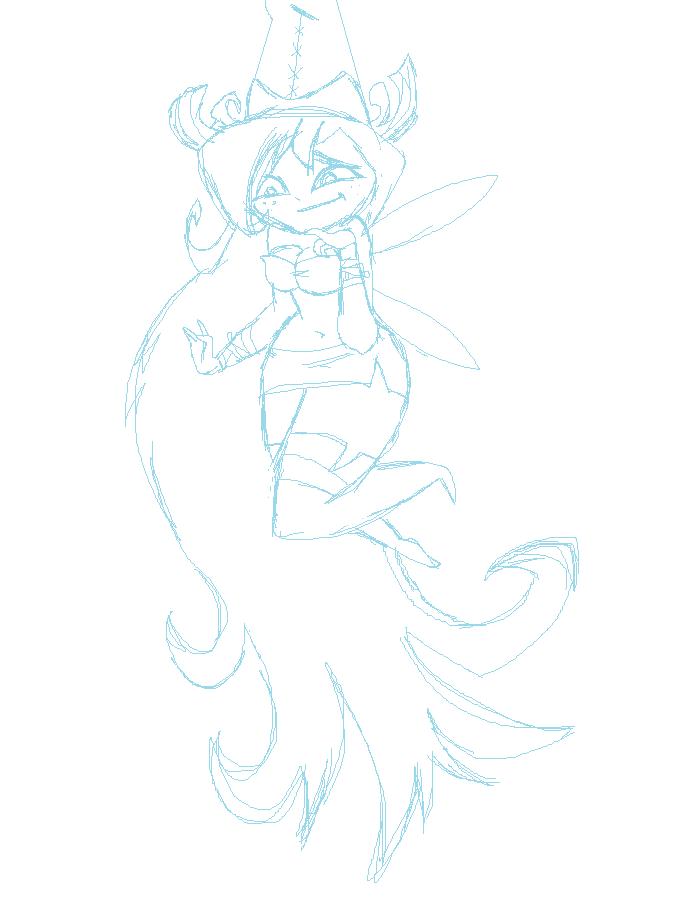 Betilla the Fairy Sketch