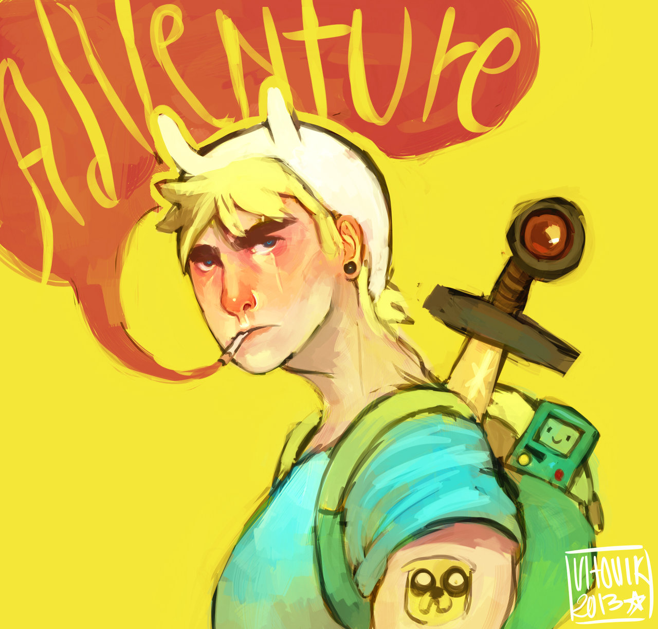 Adventure time-Finn