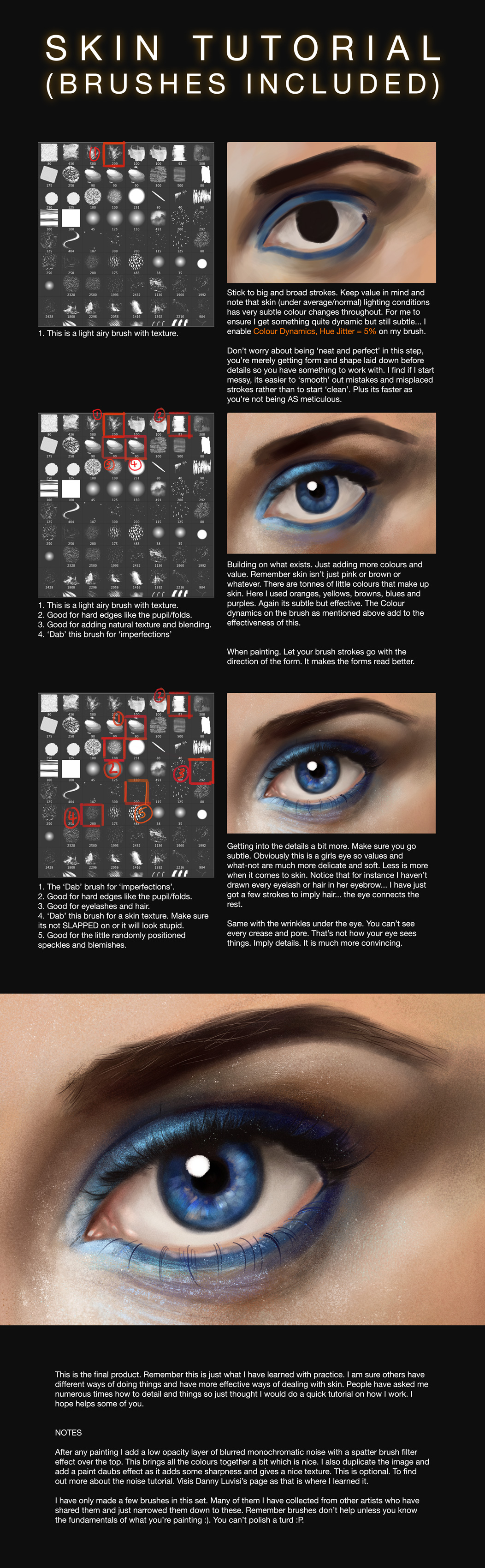 Skin/Blending Tutorial