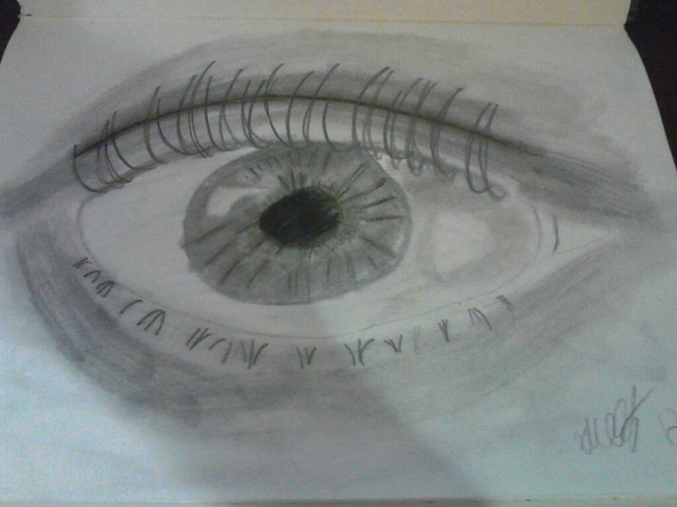 Pencil Sketch: Eye