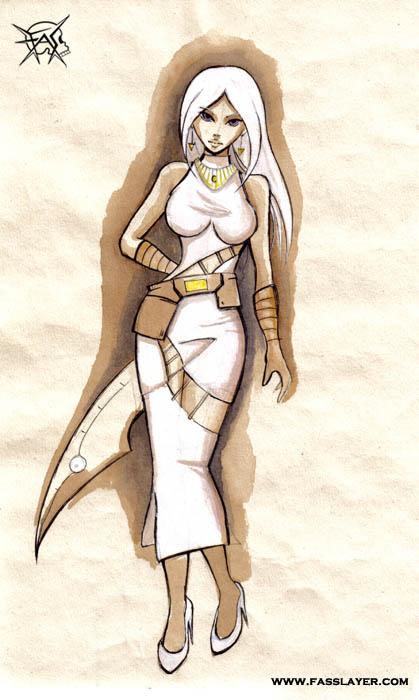 assassin lady