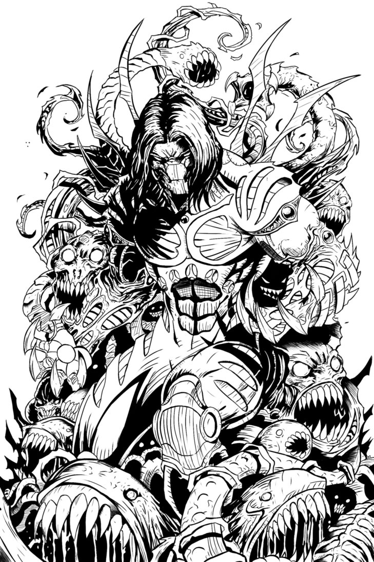 The Darkness Inks