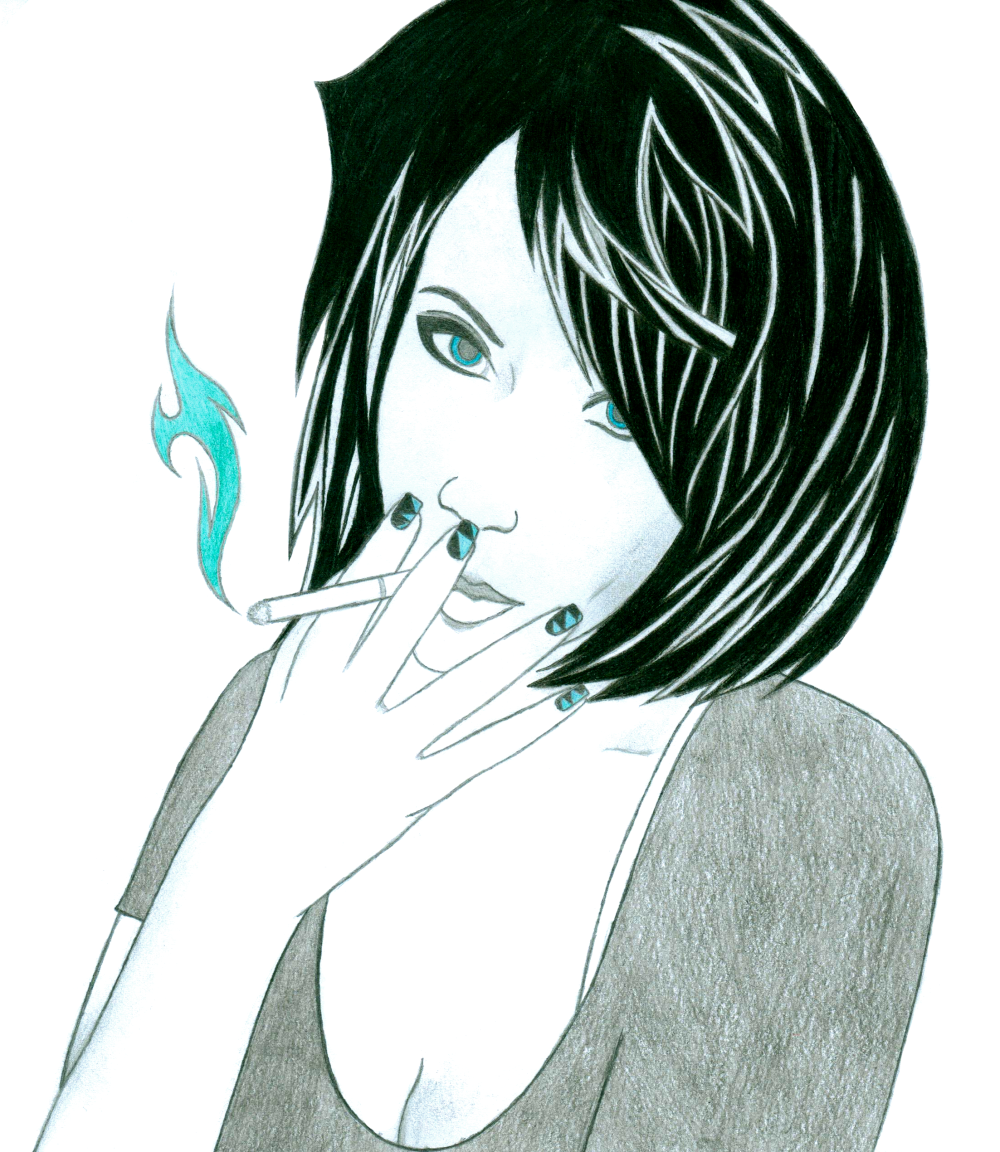 Cigarette Girl #9