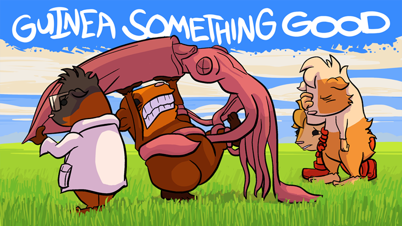 Squid Fight Wallpaper