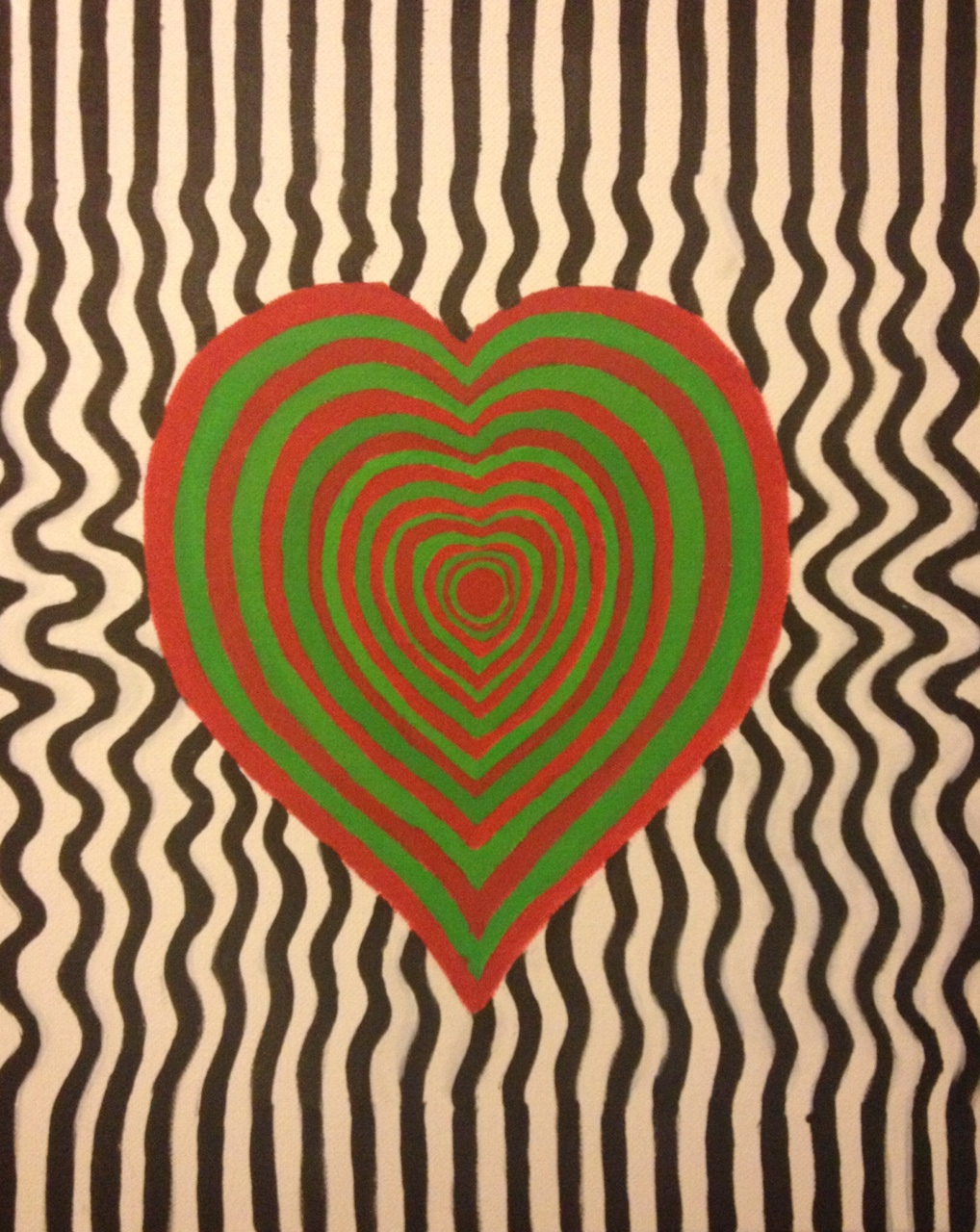 Red-Green Vibrations