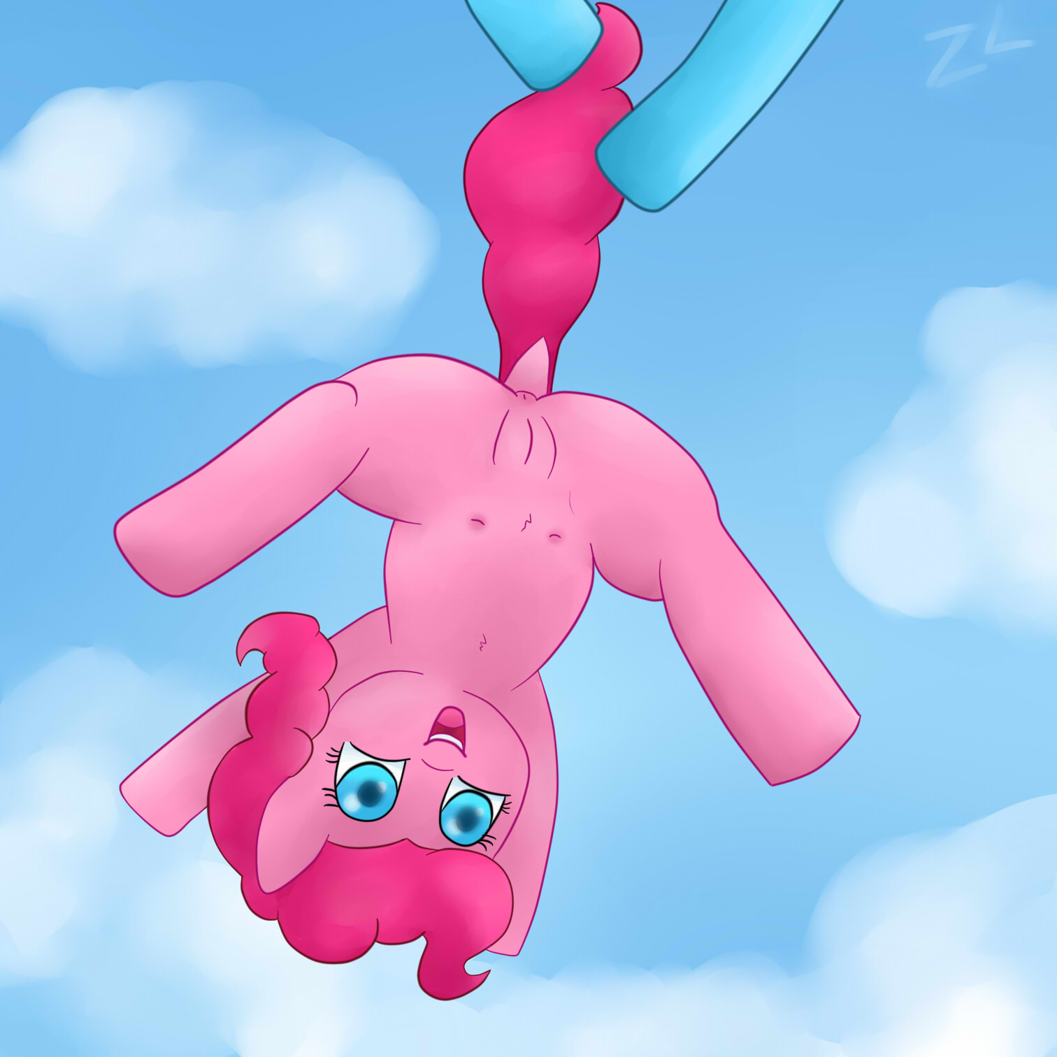 Pinkie is in the Air